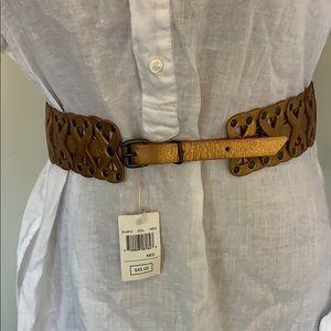 Vintage Guess genuine leather belt